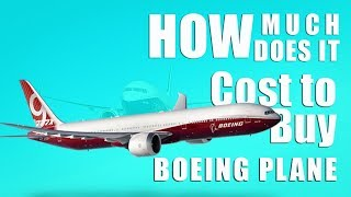 How much does it cost buy a Boeing Plane : 2018