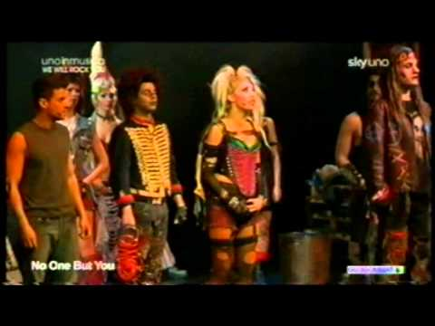 Queen - Uno in musica - We Will rock you musical italian version Skyuno special (13-03-2011)