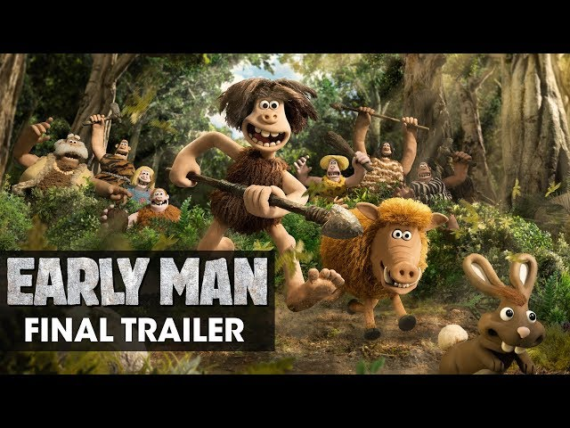 Early Man (2018 Movie) Official Final Trailer - Eddie Redmayne, Tom Hiddleston, Maisie Williams