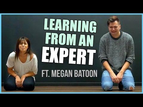 Teaching Megan Batoon To Dance | Elliott Morgan