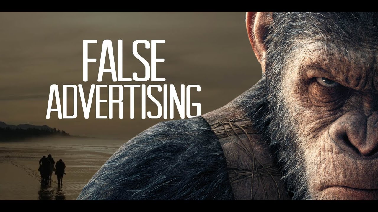 war for the planet of the apes false advertising video essay  war for the planet of the apes false advertising video essay