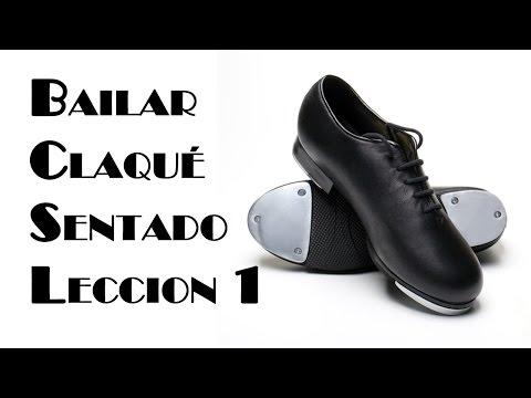 Aprender a Bailar Claque o Tap Dance Sentado, Leccion 1
