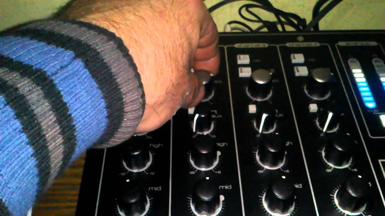 prueba sonido urei soundcraft 1603 por dj luisda