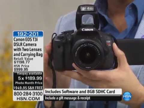 This is How the Home Shopping Network Tried to Sell the Canon Rebel T3i Back in 2012