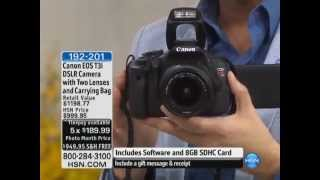 Canon EOS Rebel T3i 18MP DSLR Camera with 18-55mm and 75...