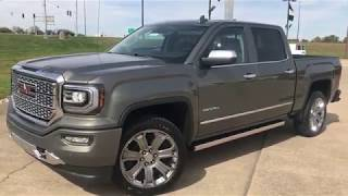 2018 GMC Sierra 1500 Crew Cab Short Box 4WD Denali Walkaround/Overview - #T77618