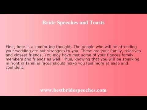 Bride wedding speech examples Wedding Photo Blog 2017 – Wedding Speech Example