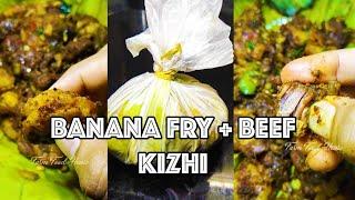 പഴംപൊരി ബീഫ് കിഴി - Trivandrum Food Review - banana fry beef #shorts