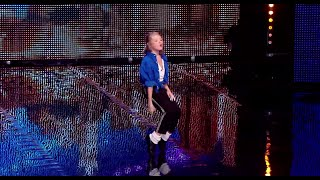 Yanis the 13 years old Michael Jackson - France's Got Talent 2014 audition - Week 3