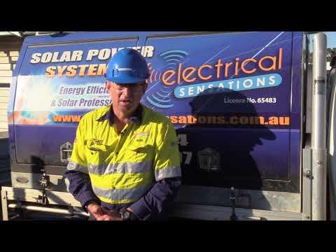 Commercial solar installation Pt 2