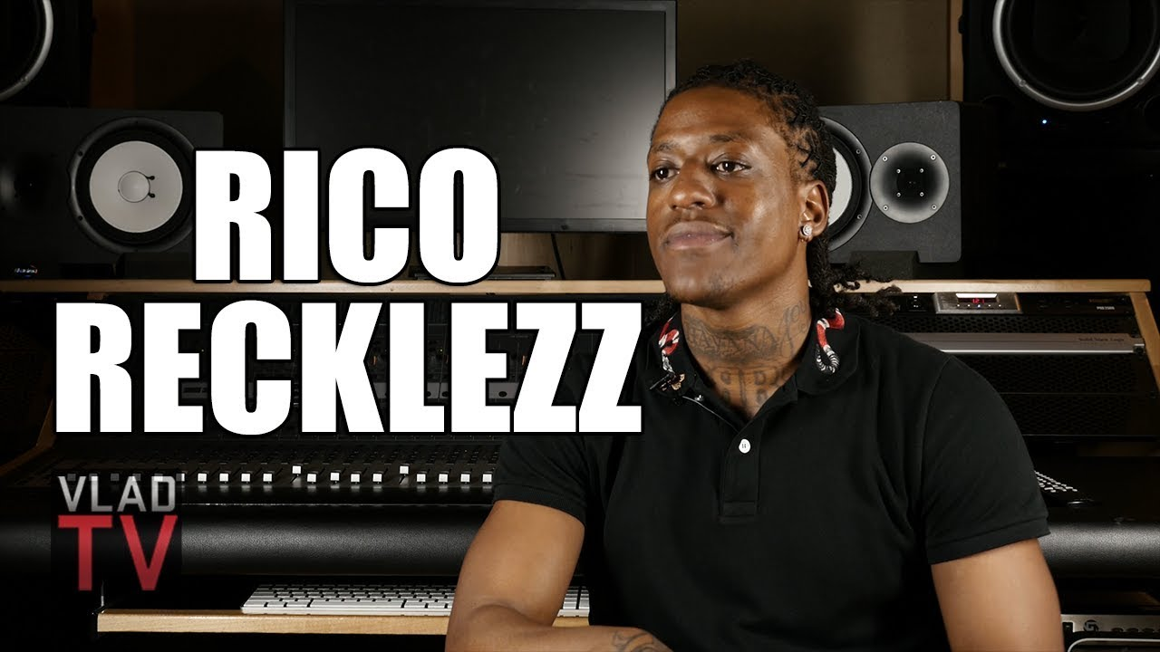 Rico Recklezz Quit Drugs After Seeing a Photo of Himself Looking Like Lou Rawls