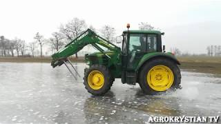 ☆John Deere bokiem || Drift Traktorem 2018☆