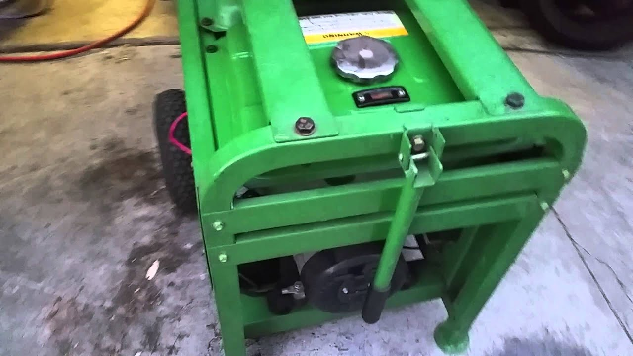 Titan 7500 sel generator