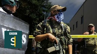 Alt-right vs Antifa: Who's turning campuses into battlegrounds? (FULL DOCUMENTARY)  BBC Stories