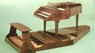 J.S. Bach - Trio Sonata in Eb Major - BWV 525 - 2/3 - Pedal Harpsichord