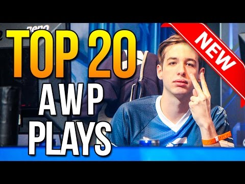 Top 20 AWP Plays Ever By Pro Players ★ CS:GO