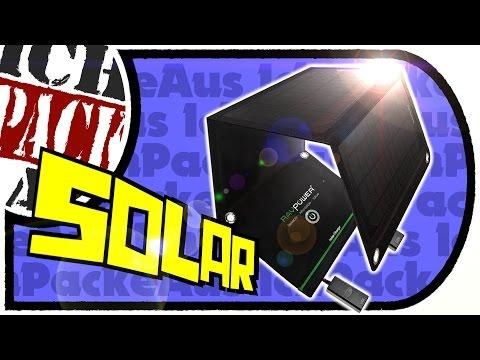 RAVPower 15W Solar Ladegerät Charger für Handys, Tablets etc. (Unboxing Marathon Part 05)