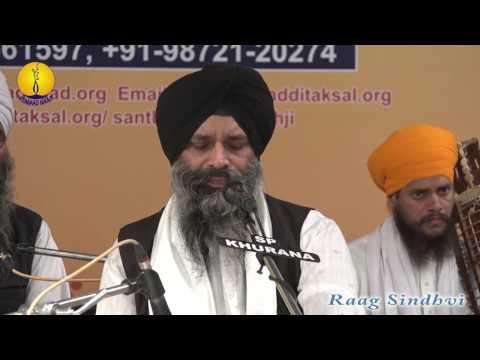 25th AGSS 2016: Raag Sindhvi Dr. Alankar Singh Ji Patiala