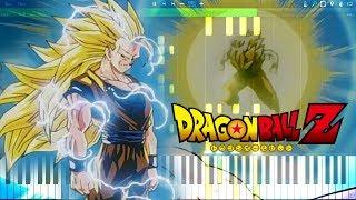 Dragon Ball Z OST - SSJ3 Goku Theme   Piano Tutorial, ドラゴンボールZ【ピアノ】