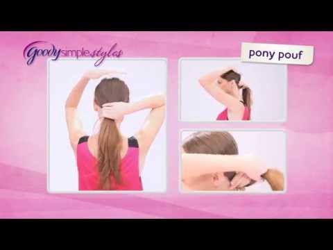 Goody SimpleStyle Pony Pouf YouTube Adorable Pony Pouf