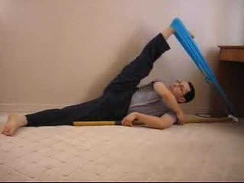 KARATE STRETCHING and FLEXIBILITY EXERCISES for Front and Side