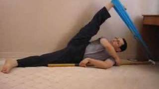 KARATE STRETCHING and FLEXIBILITY EXERCISES for Front and Side splits High kicks