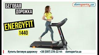 Видео о  Беговая дорожка EnergyFIT 1440