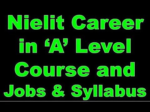 Nielit Doeacc Course Career In 'A' Level Course And Jobs & Syllabus