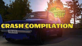 My Summer Car - Crash compilation