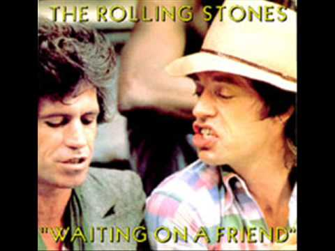 Rolling Stones  Rehearsals - Waiting on a friend