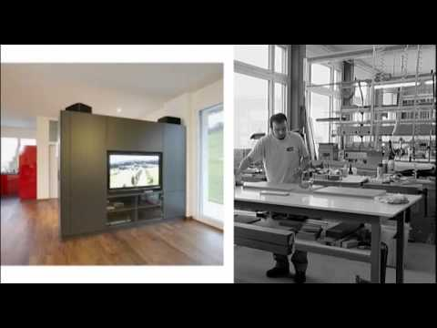 Alpnach Norm Schrankelemente AG Produkte und Ausstellung