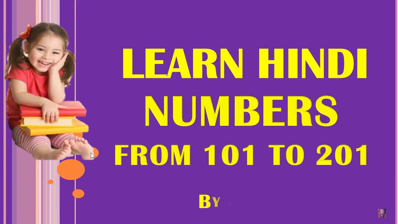 Learn hindi numbers from to   also rh youtube