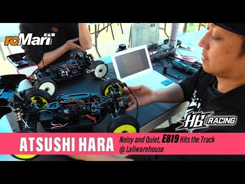 Noisy And Quiet - HB Racing E819 Hits The Track - RC Driver Atsushi Hara