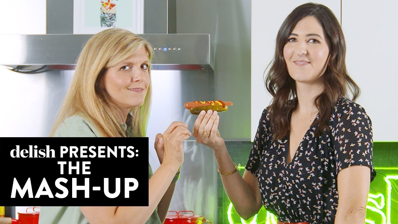 Download D'Arcy Carden Made The Most NSFW Food Mash-Up Ever | The Mash-Up | Delish | Ep 6