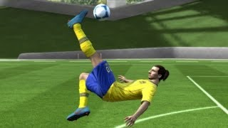 FIFA 14/13 | Ibrahimovic Overhead Bicycle Kick Tutorial