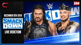 WWE SmackDown December 6th 2019 Live Stream: Live Reaction Conman167