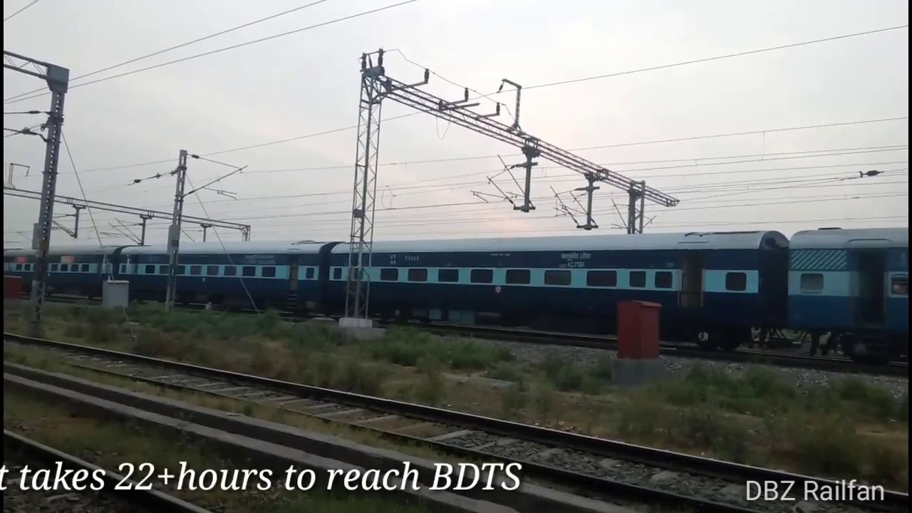 22452/Chandigarh - Mumbai Bandra (T ) Bi-weekly SF Express