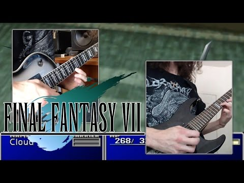 Final Fantasy VII Battle Theme | Those Who Fight - Metal Cover || ToxicxEternity