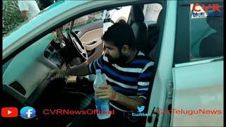 Jabardasth Comedian Chalaki Chanti met with road accident   Kodad   CVR News