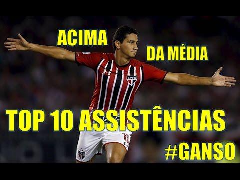 ASSISTÊNCIAS- PAULO HENRIQUE GANSO TOP 10