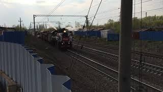 Настоящий паровоз в Липецке