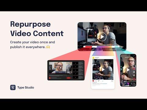 Repurpose Video Content #0