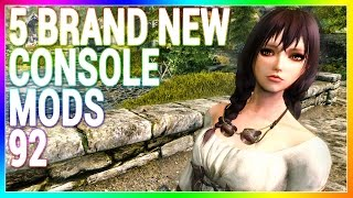 5 BRAND NEW Console Mods 92 - Skyrim Special Edition (XBOX/PS4/PC)