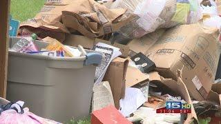 Waynedale neighbors upset over large pile of trash