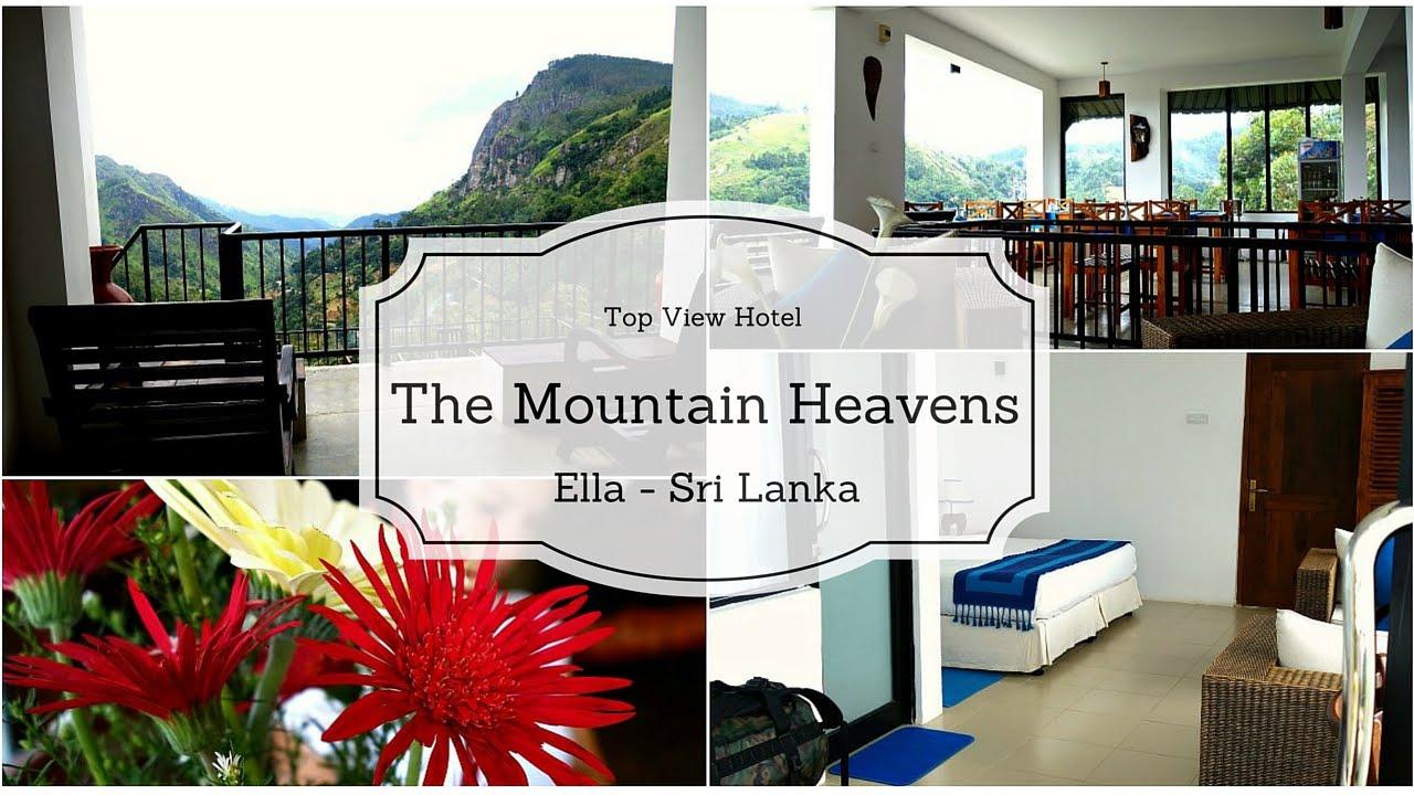 Hotel Sri Lanka Ella The Mountain Heavens Hotel Youtube
