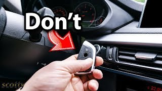 Never Warm Up Your Car's Engine, Unless