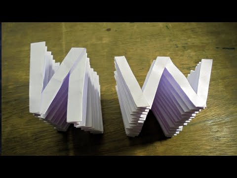 How to make Spring alphabet from paper