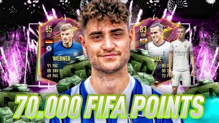 FIFA 21: BEST OF 70.000 FIFAPOINTS 💸 REALTALKS🔥       STREAMHIGHLIGTS