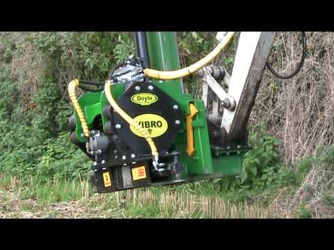 Doyle Engineering Vibro Vibrating Post Driver For