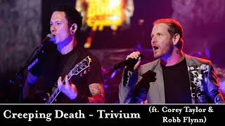 Trivium - Creeping Death - feat. Corey Taylor and Robb Flynn   Multi-Cam Live Performance